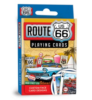 PLAYINGCARDS/Route 66