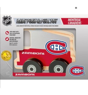 TOY/Canadiens Push & Pull Toy