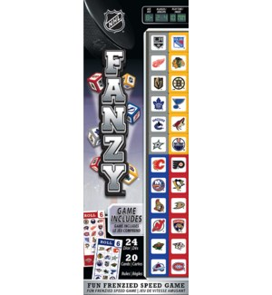 GAMES/NHL Fanzy Dice Game