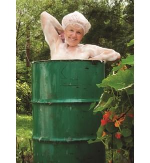 BD/Lady in a barrel