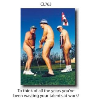 RT/Nude Golfers