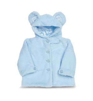 COAT/Huggie Bear Bl (12-24)