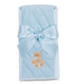 BURPCLOTH/Huggie Bear (Blue)
