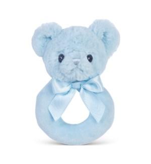 RINGRATTLE/Huggie Bear (Blue)