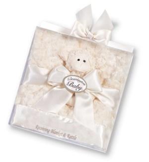 SET/Lamby Blanket/Rattle