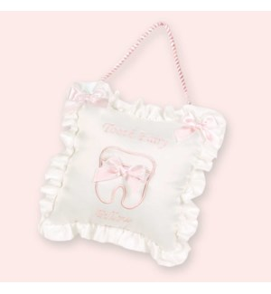 PILLOW/Le Petite Tooth (Pink)