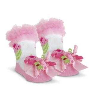 SOCKS/Cupcake (Pink)
