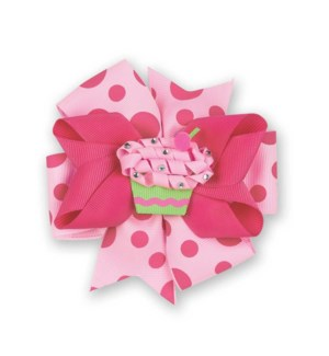 BOW/Cupcake 3-In-1 (Pink)