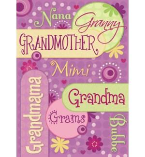 RBD/Grandma Nicknames