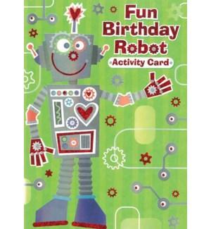 CBD/Robots Activity Card