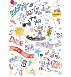 CBD/Happy Birthday Doodle