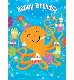 CBD/Birthday Octopus