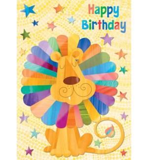 CBD/Lion Rainbow Mane