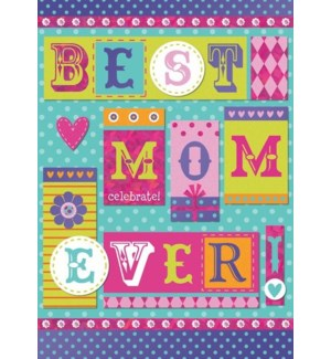 RBD/Best Mom Ever Typography