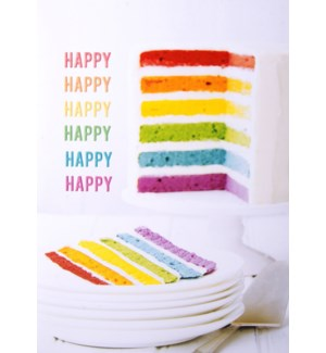 BD/Rainbow Cake