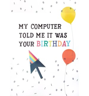 BD/My Computer Told Me