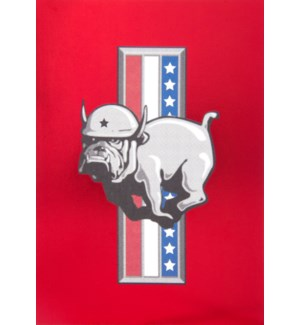 BD/Patriotic Birthday Bulldog