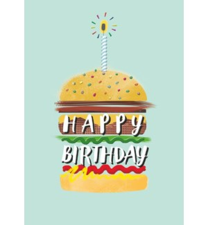 BD/Happy Birthday Burger