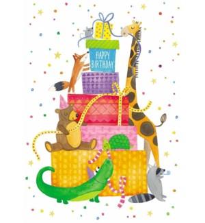 CBD/Animal Sticker Party