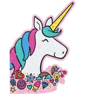 CBD/Glittery Birthday Unicorn