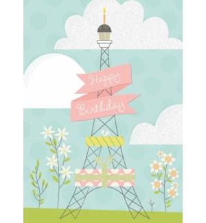 CBD/Celebrate Eiffel Tower