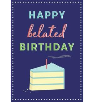 BBD/Belated Birthday Cake