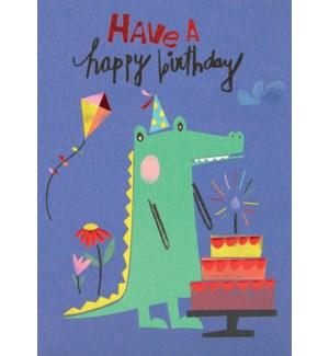 CBD/Birthday Cake And Gator