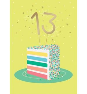 ABD/13 On A Cake