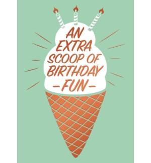CBD/Extra Scoop Of Birthday