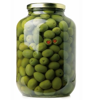 RO/Olive Jar With Pimentoes