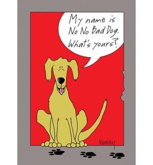 ED/No No Bad Dog