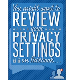 ED/Review Your Privacy Setting