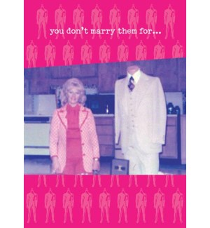 ED/You Don't Marry Them