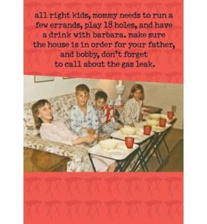 ED/Mommy Needs To Run