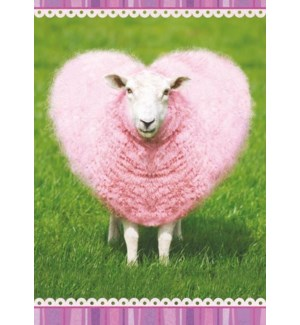 RO/Pink Heart Sheep
