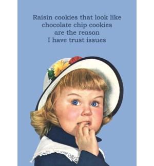 ED/Raisin Cookies