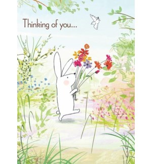 TH/Bunny With Flowers