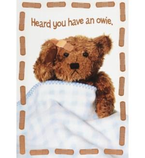 GW/Teddy Bear With Bandages