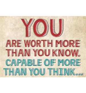 EN/You Are Worth More