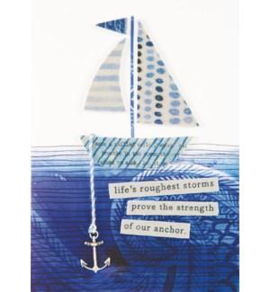 EN/Sailboat On Pattern Sea