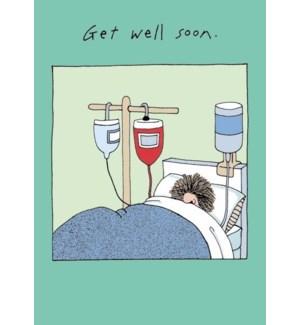 GW/Woman In Hospital Bed