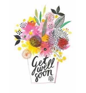 GW/Get Well Flower Bunch