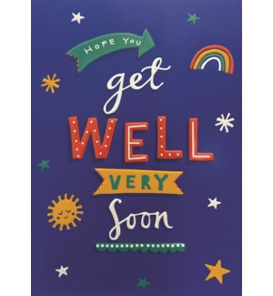 GW/Get Well Very Soon Icons
