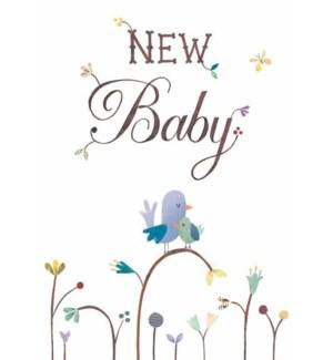 NB/New Baby Birds on Branch