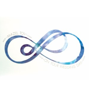 WD/Judaica -Blue Infinity Sign