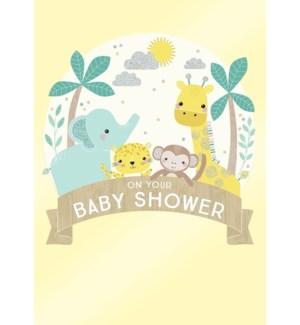 NB/Baby Shower Animals