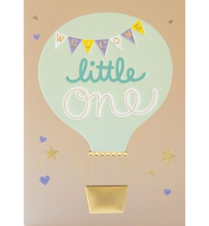 NB/Welcome Little One Balloon