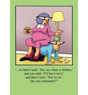 AN/Broken Chair Bet