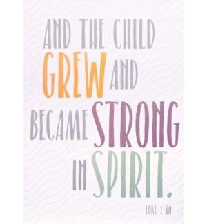 RL/Strong In Spirit Baptism