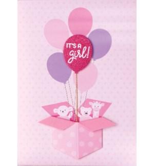 NB/It's A Girl Balloons